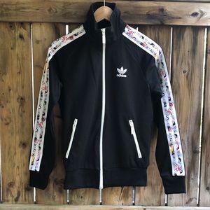 ADIDAS X Topshop three stripes XS zip up sweater